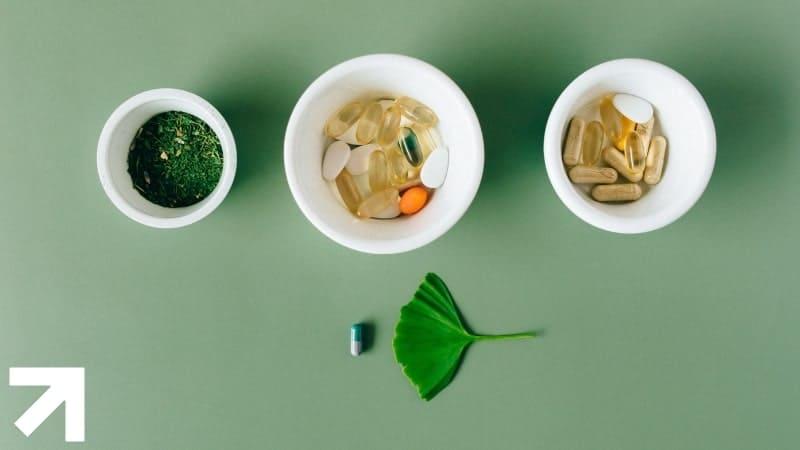 cápsulas com plantas em pó, suplementos que podem servir de remédio natural para disfunção erétil